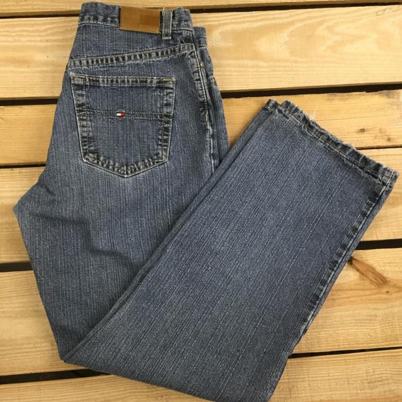 09162666 Tommy Hilfiger Jeans | Men Jean Sz9 W30 L29 Black Straight | Poshmark
